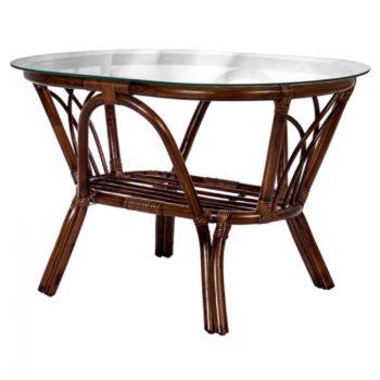 Журнальный столик из натурального ротанга